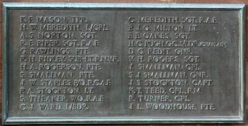 Bridgnorth War Memorial